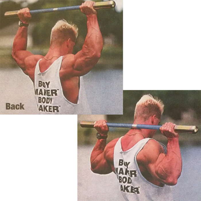 Bodymaker Pulldowns Behind the Neck